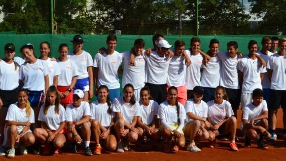 Откриха държавното по тенис до 18 години