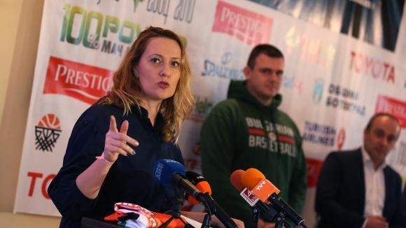 Лили Борисова: Благодарности и поздравления за Балкан