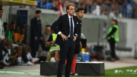 Манчини доволен от дебюта си начело на Италия
