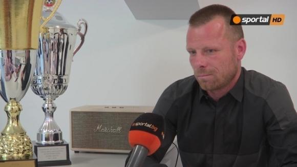 Топчо пред Sportal.bg: Чака ни тежък сезон във Втора лига, дано сбъднем голямата мечта на феновете (видео)