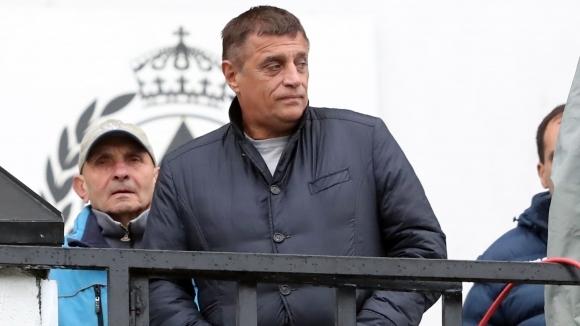 Стойне Манолов: Атакуваме елита, взимаме футболисти с 200 мача в Първа лига