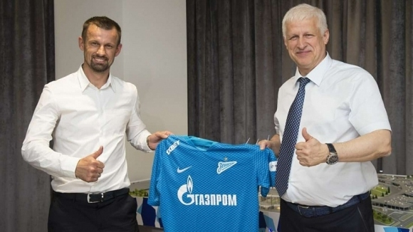 Зенит представи новия си треньор
