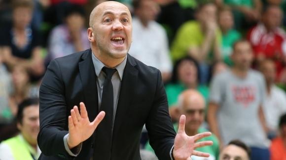 Небойша Видич: Поздравявам играчите на Левски Лукойл, но само тях