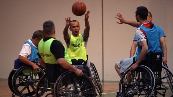 Поканиха български баскетболисти на турнира в колички в Хърватия