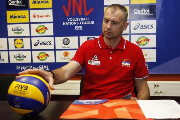 Никола Гърбич: Винаги с удоволствие идваме в България