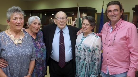 Олимпийски шампиони уважиха проф. Константин Жалов на 90-ата му годишнина