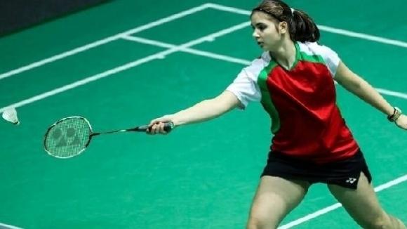 Мария Делчева с три победи на турнир по бадминтон в Латвия