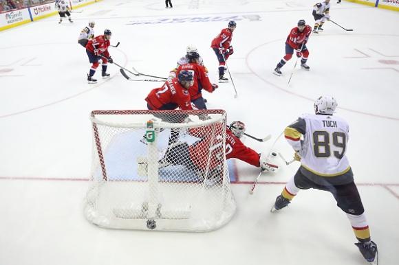 Вашингтон поведе на Лас Вегас във финала на НХЛ (видео)