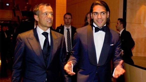 Известен футболен агент води Фалкао в Милан
