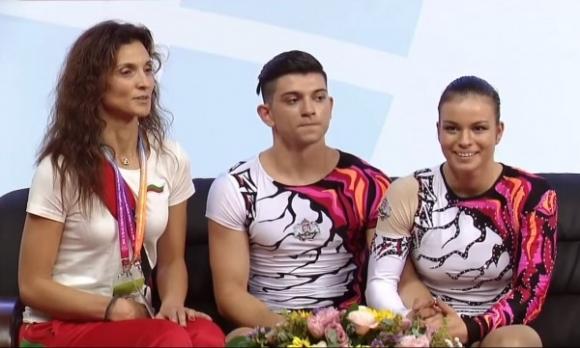 Ана-Мария Стоилова и Антонио Папазов пети във финала при смесените двойки на СП по спортна аеробика