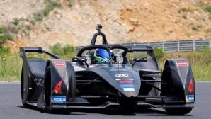 Маса навъртя 800 км в първия си Формула Е тест (снимки)