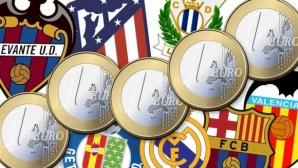 Топ отборите в Испания са със стотици милиони дългове