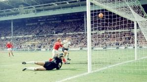 С най-криминалния гол Англия пречупи Германия и взе титлата си