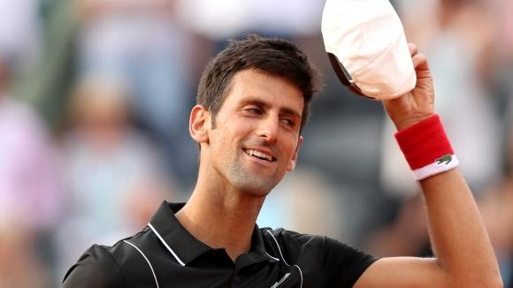 Джокович изравни велико постижение на Федерер и Конърс в Париж