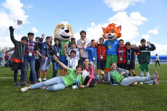 """Българските посланици на """"Футбол за приятелство"""" се подготвят за финалите в Москва"""