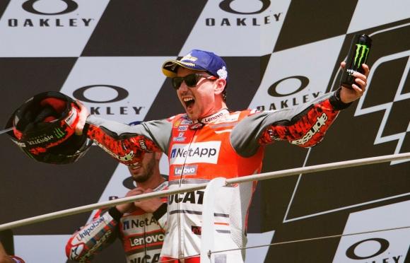 Хорхе Лоренсо ще кара Honda в MotoGP
