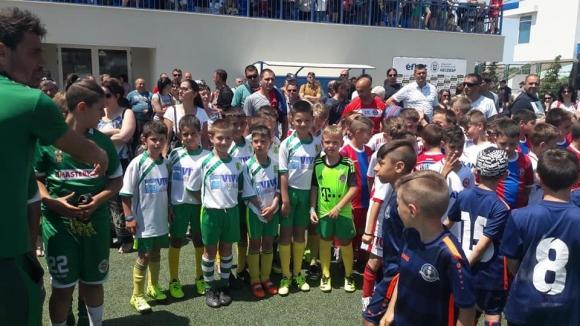 Атлетик (Шумен) взе участие в турнира по футбол в Несебър