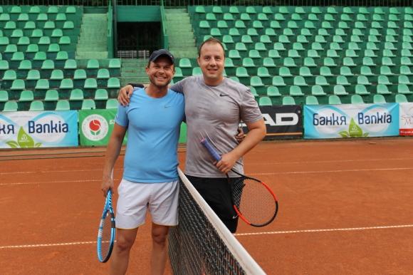 Ненчо Балабанов записа първа победа в Мастърса на Интерактив тенис