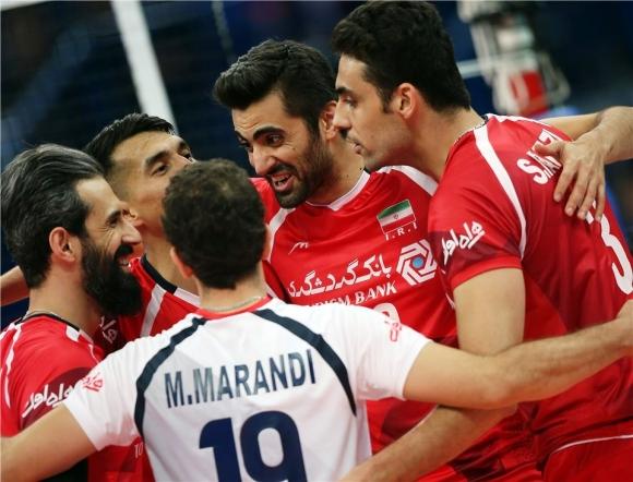 Иран с бърза победа над Китай (видео + снимки)