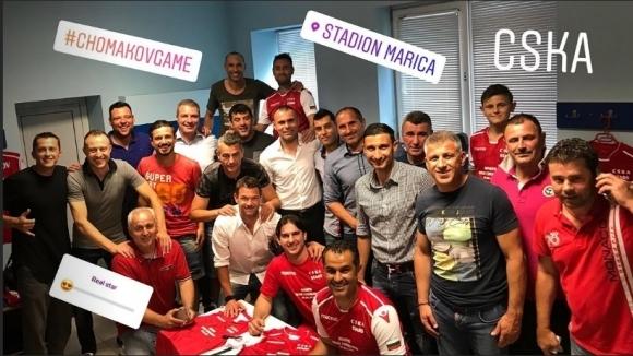 Болест спряла Димитър Пенев за бенефиса на Красимир Чомаков