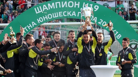 Лудогорец U15 на четвъртфинал след успех над Берое (видео)