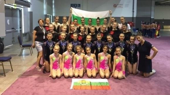 България с шесто място на Световното по естетическа гимнастика