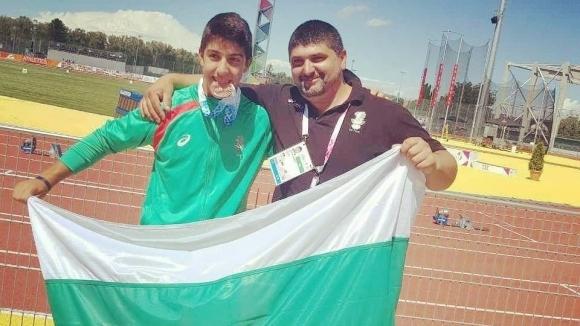 Шампионско посрещане за рекордьора Валентин Андреев в Балчик