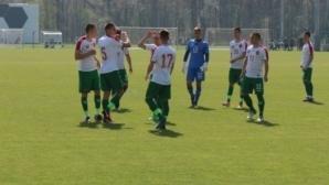 България победи Грузия с 2:0 във втората контрола при юношите от набор 2000