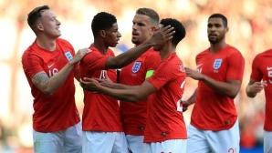 Страховит гол поведе Англия към лесна победа (видео)