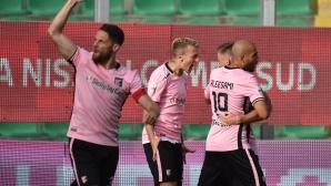 Палермо на крачка от завръщане в Серия А