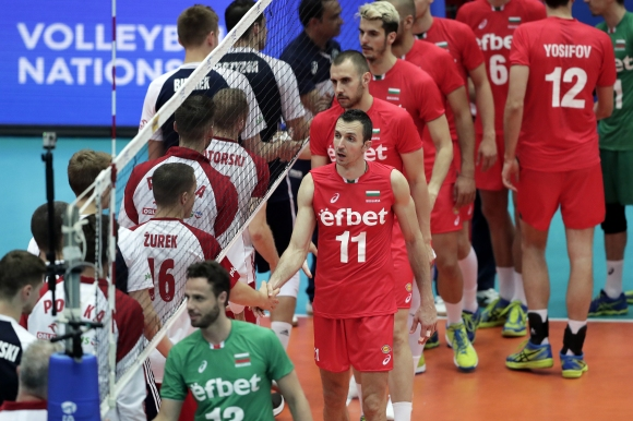 България вече е на 12-о място в Лигата на нациите