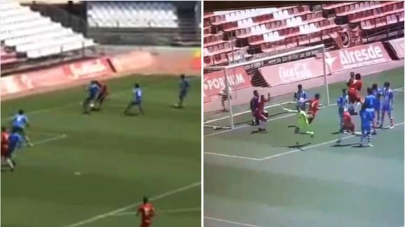 Вратар вкара победен гол в Испания (видео)