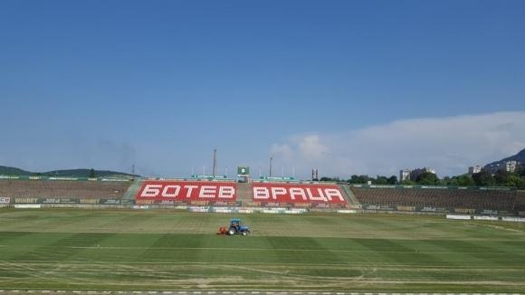 Във Враца се готвят за старта на сезона в Първа лига