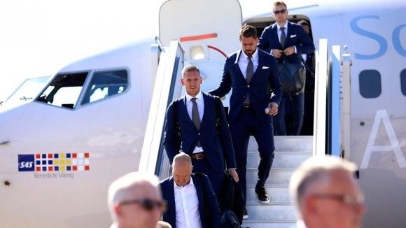 Шведският отбор пристигна в Русия