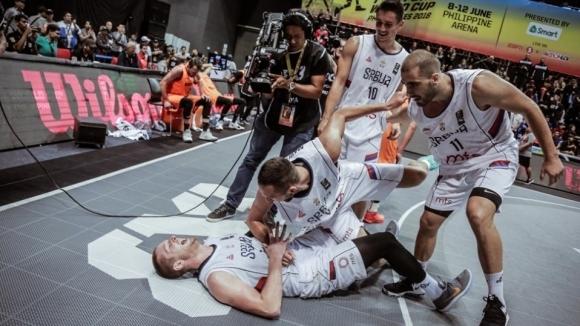 Сърбия с четвърта световна титла на 3Х3