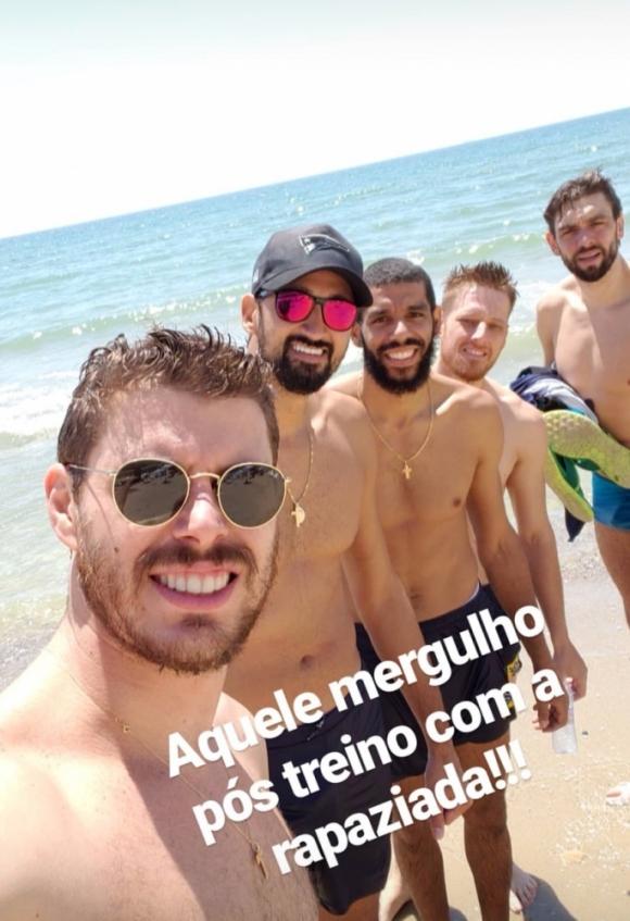Бразилците събират погледите на плажа