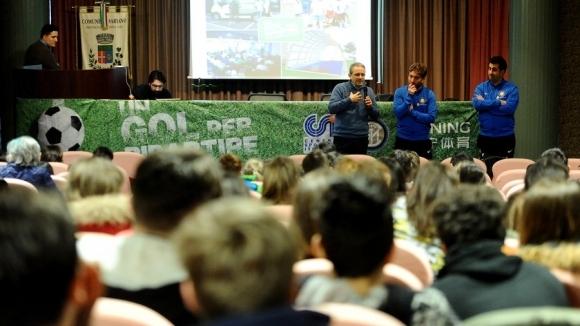 Треньори от Академията на Интер с открита лекция пред българските си колеги