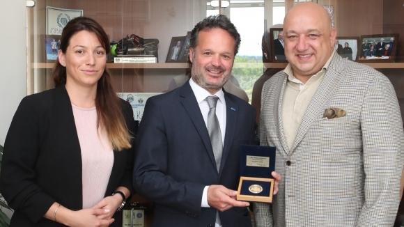 Кралев се срещна с директора на Европейската тенис федерация