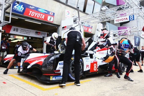 """Toyota с номер 7 начело след тренировката за """"Льо Ман"""", Алонсо - втори"""