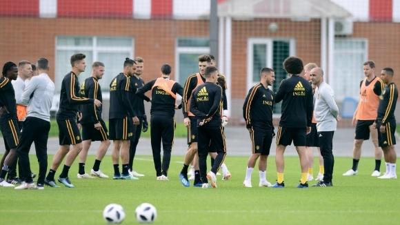 200 души аплодираха тренировката на белгийците