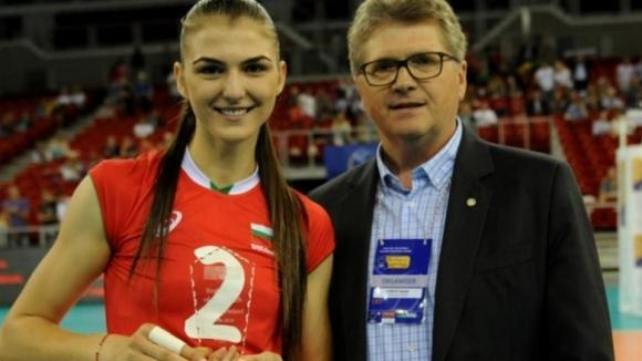 Нася Димитрова с приз за Най-добър играч в полуфинал на Златната лига