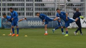 Верея започна подготовка с 20 футболисти
