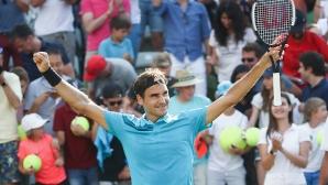 Федерер прекърши Кирьос и се завърна на върха (видео)