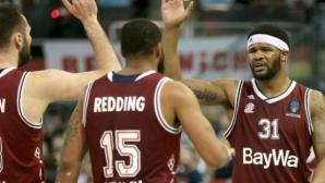 Байерн (Мюнхен) стана шампион на Германия по баскетбол и си осигури участие в Евролигата