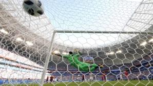 Мондиал 2018 изравни Мондиал 2014 по голове от фаул (видео)