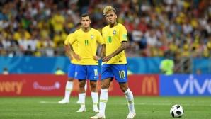 Неймар се раздаде, но Бразилия изпусна победата срещу Швейцария (видео)