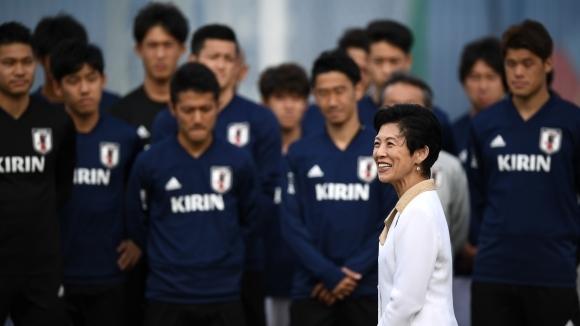 Принцесата на Япония посети тренировката на националния отбор в Казан