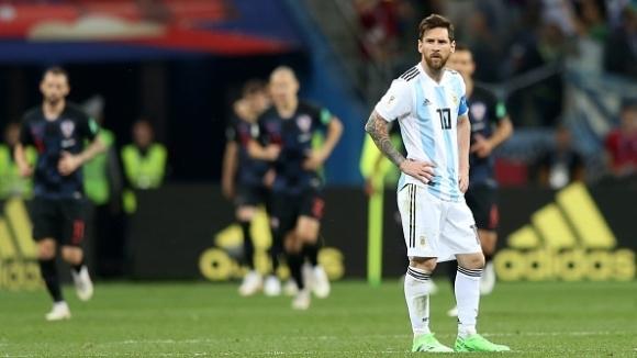 Съставите на Аржентина и Хърватия (гледайте тук)