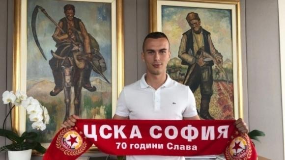 Словашкият национал на ЦСКА-София: Ел Маестро ме поздрави с SMS за договора