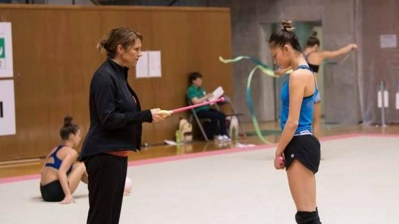 Националният отбор по художествена гимнастика продължава лагера в Япония